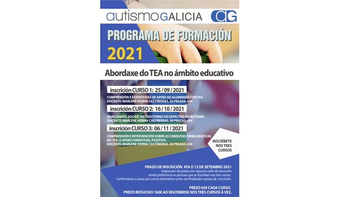 Autismo Galicia abre un novo ciclo formativo