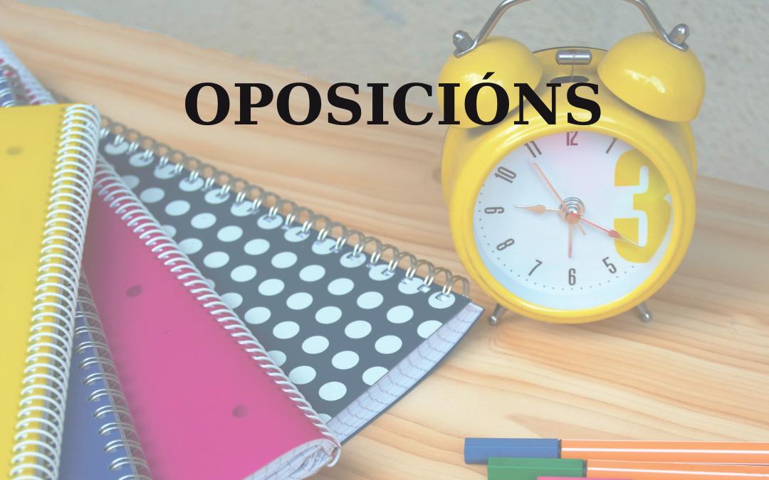 Examen de galego OPE-XUNTA.